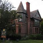 View of historic William Henry Miller Inn