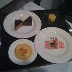Sage Bistro's dessert tray