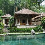 Villa at the river bank...