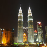 view from Traders Hotel, KL