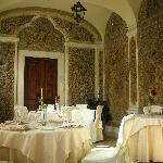 Hostaria 1735 intimate dining room