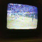 Tv which only received 1 channel which was distorted