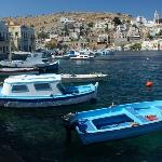 Symi - taken from the restaurant ovelooking the bay