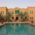 L'aîle de la kasbah dans laquelle nous séjournions