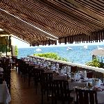 Frühstücks- und Restaurant-Terrasse