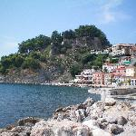 Parga Castle and harbour