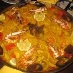 Paella on the Tuesday