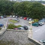 View overlooking the car park