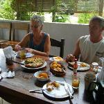 Breakfast with Karen and Roy