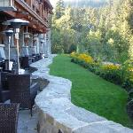 Patio Dining at Nita Lake Lodge