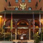 me in front of the alhambra hotel