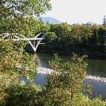 View from our Patio at the Riverside Inn, Grants Pass Or