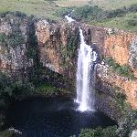 one of the many waterfalls in the region
