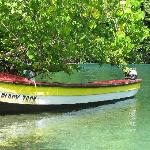 Our Fishing Boat on The Blue Lagoon