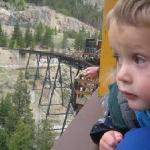 Son on Colorado vacation
