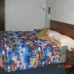 le lit spacieux