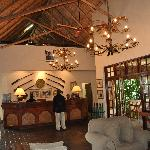 The Lobby of the Ilala Lodge