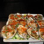fresh oysters whit masago!!!