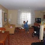 Living Area - 1 Bedroom Suite