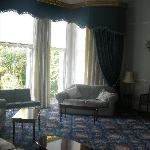 The sitting room in the hotel