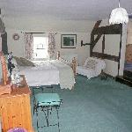 The Courthouse Suite, our lovely room