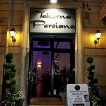 Taberna Persiana: the entrance