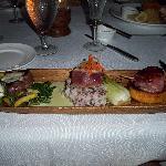 Filet, Ahi and Scallops