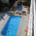 pool at buensol