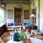 Alam Shanti : une autre vue de la terrasse - suite Gangga