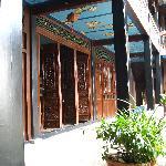 Corridor in the Courtyard