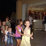my daughter enjoying kids disco