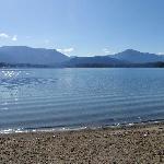 Mountain Views from Condo Shoreline