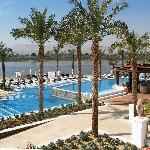 Luxor Hilton Pool on the Nile River
