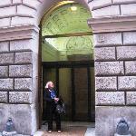 Entrada Centro Accoglienza P. Minozzi