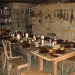 The dining area, scene to many a captivating story told