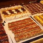 Les gâteaux au dîner 1