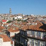 Vue de Porto depuis la Sé