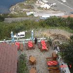 On the terrace restaurant