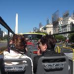 City Tour Bus Upper Deck
