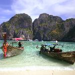 that beach on phi phi ley