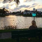nearby lake / evening walk