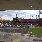 View of Ballpark From Manchester Room