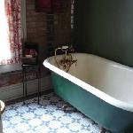 All of the rooms we saw had historic bathtubs, most claw-foot