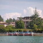 Hotel from the Lake
