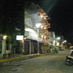 Maria Sabina building at night