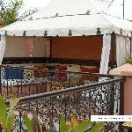 La Tenda Berbera sul tetto a terrazza