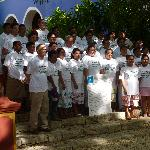 The hacienda staff