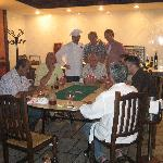 And the guys playing poker