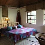 A room at Bwindi Lodge