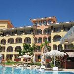 hotel piscina climatizada